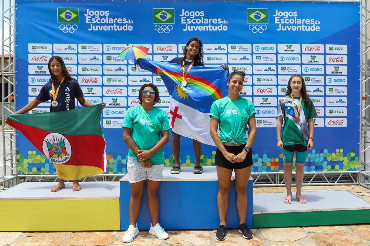 Pernambuco começou forte a disputa dos Jogos Escolares da Juventude (JEJ)  em Natal (RN). Logo na manhã da terça-feira saíram as primeiras medalhas  para o ... 1a0dbc6802d2d